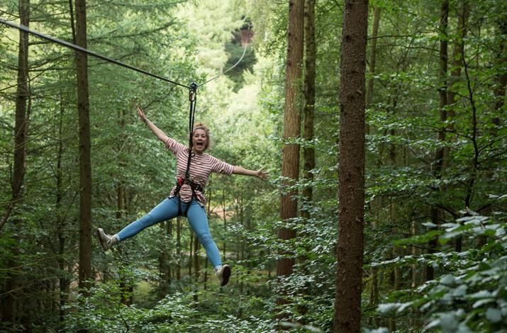 GoApe Tree Top Adventure