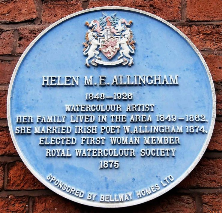 Helen Allingham (1848 -1926) Blue Plaque