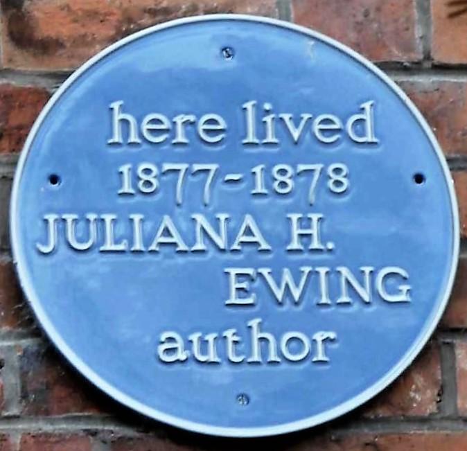 Juliana Ewing (1841-1885) Blue Plaque