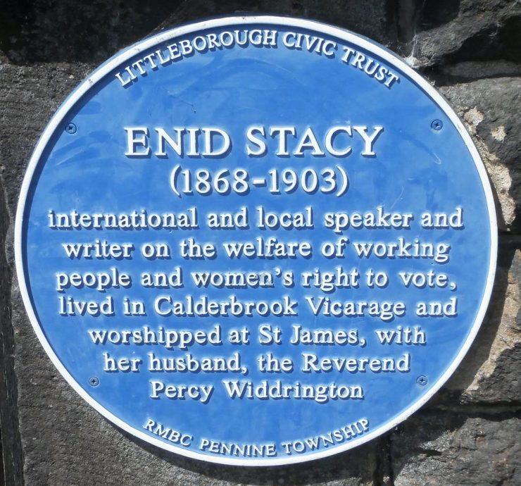 Enid Stacy (1868 - 1903) Blue Plaque