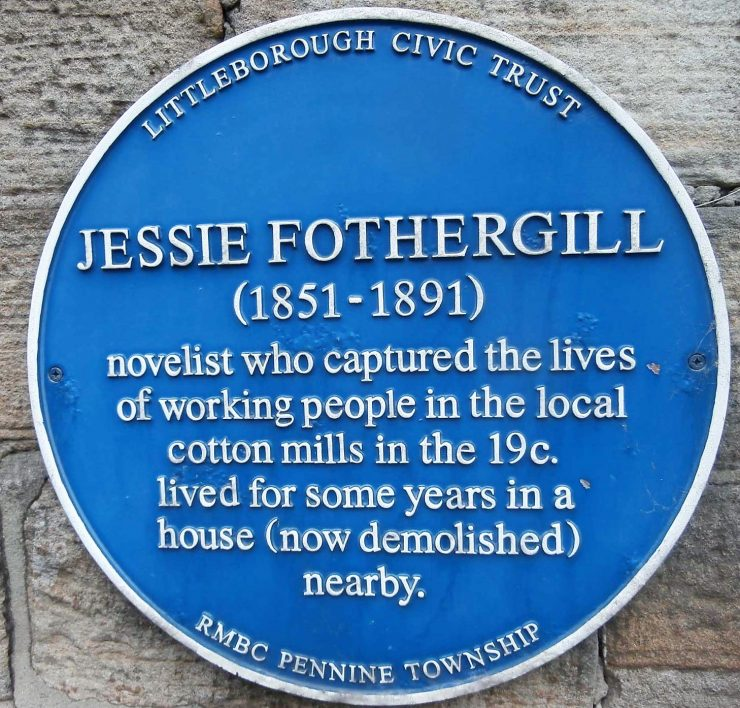 Jessie Fothergill Blue Plaque
