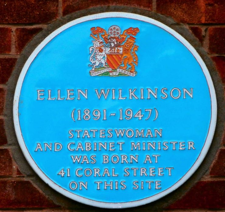 Ellen Wilkinson (1891-1947) Blue Plaque