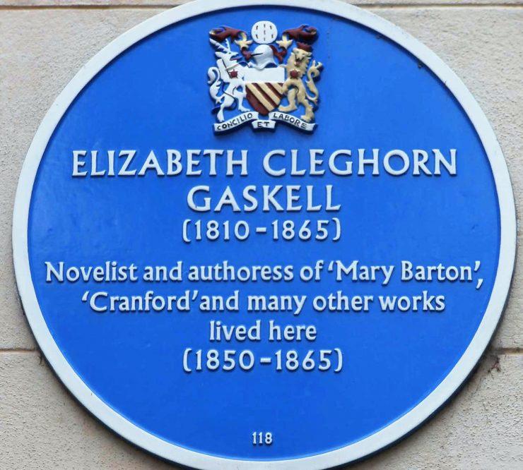 Elizabeth Gaskell (1810 - 1865) Blue Plaque