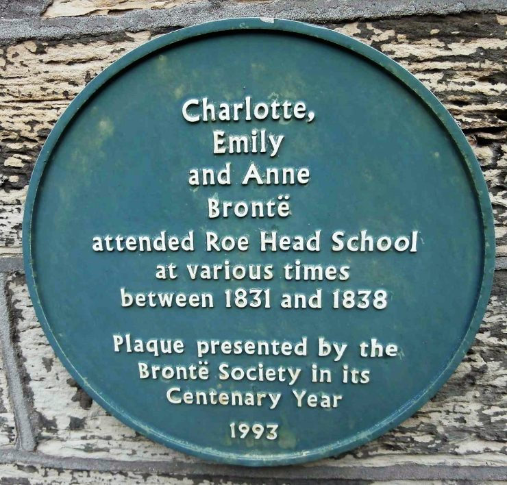 Charlotte, Emily and Anne Brontë  Blue Plaque